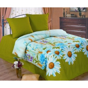 Постельное белье «Любимый дом» Ромашки луговые