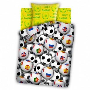 Детское постельное белье FOR YOU Футбольные мячи