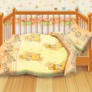 Детское постельное белье «Кошки-мышки». Мишутки