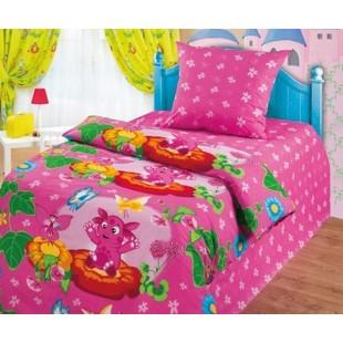 Детское постельное белье «Лунтик» Лунтик и бабочки