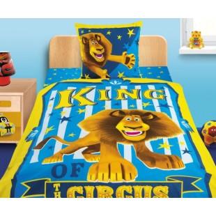 Детское постельное белье 3D «Мадагаскар-3» Алекс