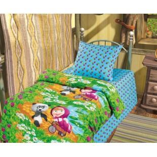 Детское постельное белье «Маша и Медведь» Гость
