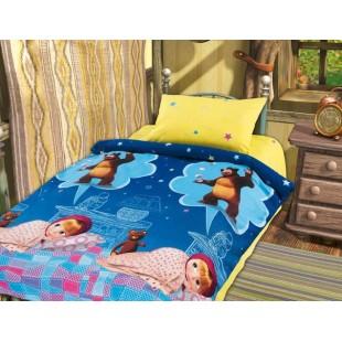 Детское постельное белье «Маша и Медведь» Машин сон