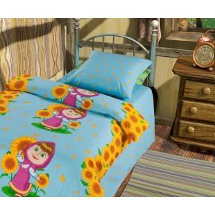 Детское постельное белье «Маша и Медведь» Первая встреча