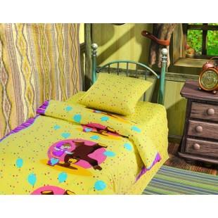 Детское постельное белье «Маша и Медведь» Цирк