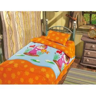Детское постельное белье «Маша и Медведь» Золотая рыбка