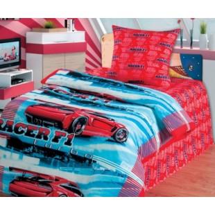 Детское постельное белье «Непоседа» Автогонки