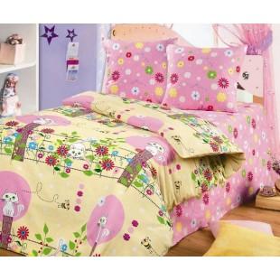 Детское постельное белье «Непоседа» Кошка и пчела