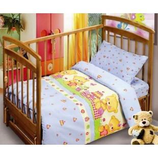 Детское постельное белье «Непоседа» Мишутки