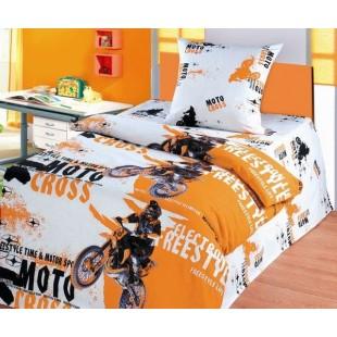 Детское постельное белье «Непоседа» Мотокросс