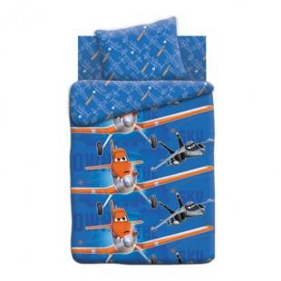 Детское постельное белье «Самолеты» На виражах