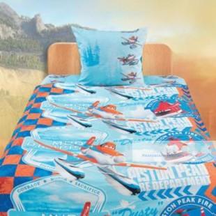 Детское постельное белье «Самолеты» Огонь и вода