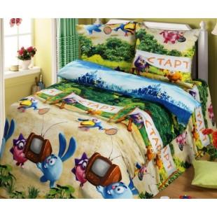Детское постельное белье «Смешарики на берегу»