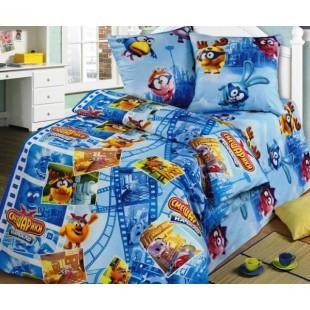 Детское постельное белье «Смешарики стоп-кадр»