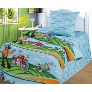 Детское постельное белье «Союзмультфильм» Кто быстрее
