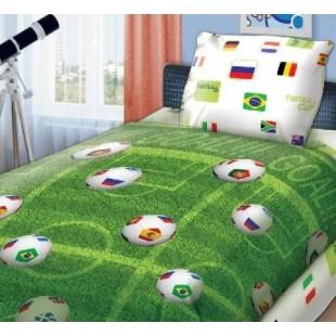 Детское постельное белье FOR YOU Футбольное поле
