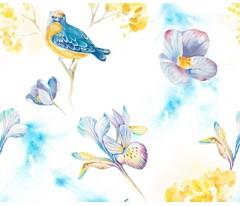 Постельное белье. Перкаль «Carte Blanche» Little Birds