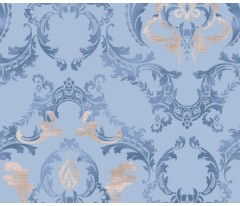 Постельное белье. Перкаль «Carte Blanche» Vintage Blue