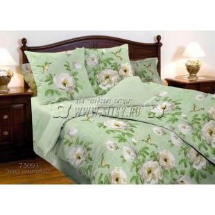 Сатиновое постельное белье «Mod's» 73091