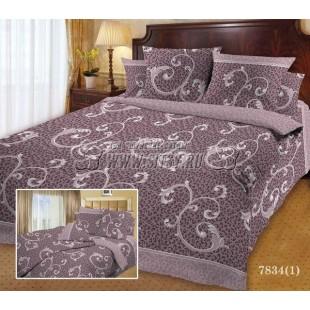 Сатиновое постельное белье «Mod's» 78341